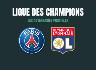 Adversaires - Ligue des champions - Bloc Sports