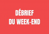 débrief Week-end - Bloc Sports