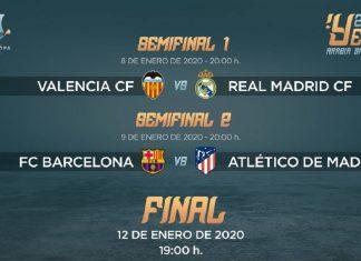 Supercoupe Espagne 2020 - Bloc Sports