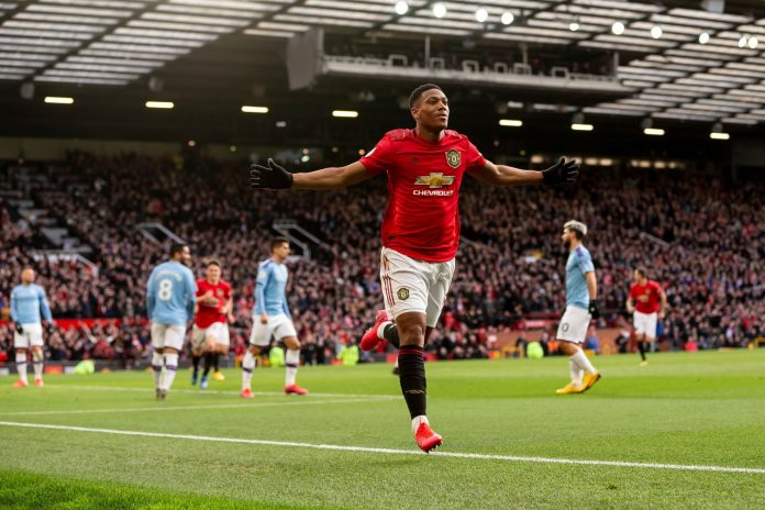 Anthony Martial - United - Bloc sports
