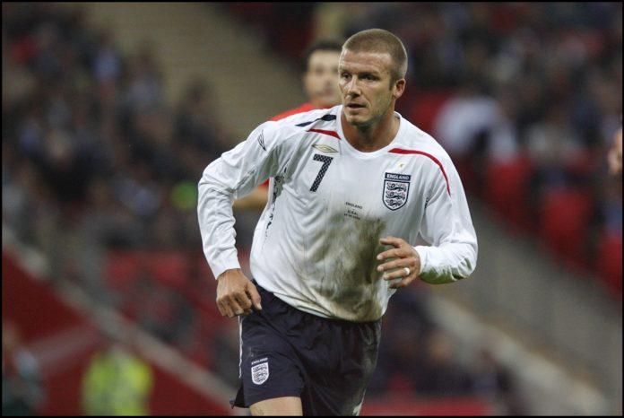 David Beckham - Angleterre