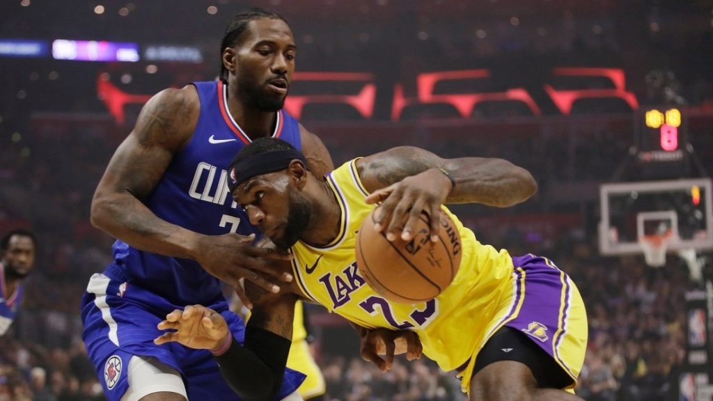 Lebron James - Lakers - Kawhi Leonard - Bloc Sports
