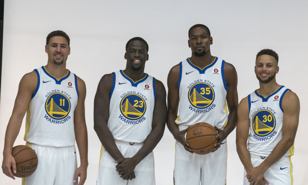 warriors - Durant - Green - Thompson - Curry